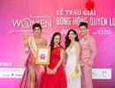 """Hoa hậu Vy Nguyễn toả sáng trên sân khấu vinh danh """"Bông hồng quyền lực"""""""