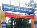 """Phụ huynh """"tố"""" trường tiểu học ở Hà Nội lạm thu hàng chục khoản"""