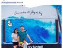 Ảnh chân dung vẽ tay trên Galaxy Note8 hút hồn giới trẻ HN
