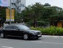 Xe của Tổng thống Hàn Quốc trên đường phố Đà Nẵng