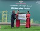 Thầy trò Pá Khoang hân hoan đón cây cầu mới trong ngày 20/11