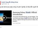 """Tín đồ công nghệ """"phát sốt"""" với Galaxy Note8"""