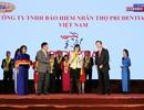 """Prudential nhận giải thưởng Rồng Vàng """"Công ty Bảo hiểm Nhân thọ hàng đầu Việt Nam"""""""