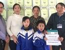 Gần 40 triệu đồng đến với người đàn bà nuôi hai đứa cháu mồ côi