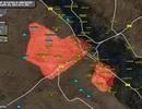 Quân đội Syria thắng lớn tại Palmyra, Deir Ezzor, Raqqa rực lửa