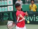 Hoàng Thiên thua trận, Việt Nam hoà Hong Kong trong ngày đầu Davis Cup