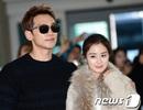 Bi (Rain) và Kim Tae Hee rạng ngời nắm tay nhau tại sân bay sau đám cưới