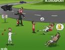 """Góc biếm họa: C.Ronaldo """"biến mất"""" ở trận gặp Girona"""