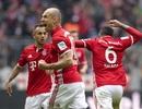 """Robben tỏa sáng, cứu Bayern Munich khỏi """"thảm họa"""" tiếp theo"""