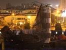Vụ đổ cần cẩu ở Hà Nội: Phạt 25 triệu đồng