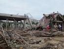Sập công trình xây dựng, 7 công nhân bị thương