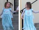 Con trai Megan Fox mặc váy ra phố