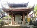 Tấm bia cổ gần 900 năm tuổi ở chùa Long Đọi Sơn