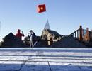 Băng tuyết, sương muối lại sắp xuất hiện trên đỉnh Fansipan