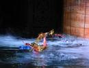 Sinh viên kỹ thuật tranh tài điều khiển robot múa rối nước