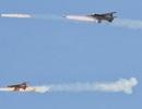 Máy bay chiến đấu Syria oanh tạc IS gần địa điểm nhạy cảm