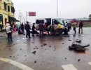 Xe đón dâu gặp nạn, ít nhất 3 người chết, 14 người bị thương