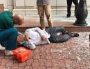 Nam công nhân ngã từ độ cao 7m tại toà nhà Diamond Plaza