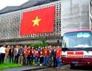 Tặng hơn 7.500 cờ Tổ quốc ra đảo Trường Sa, Lý Sơn