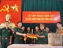 Cựu lính đặc công hiến tặng hiện vật chiến tranh cho bảo tàng