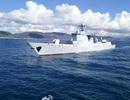 Tàu chiến Trung Quốc chết máy trên đường tới tập trận chung với Nga