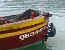Tàu cá đâm tàu hàng, 5 ngư dân rơi xuống biển