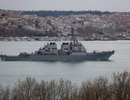 """Chiến đấu cơ Nga liên tục áp sát """"nguy hiểm"""" tàu khu trục Mỹ ở Biển Đen"""