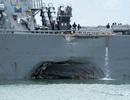 Tàu chiến Mỹ bị đâm: Công bố bất ngờ