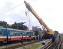 Hà Nội: Tàu khách lại trật bánh khi vào ga Yên Viên