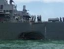 Truyền thông Trung Quốc châm chọc Mỹ sau vụ tàu chiến bị đâm móp