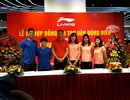 """Các """"sao"""" của điền kinh Việt Nam nhận hợp đồng tài trợ trang phục thi đấu"""