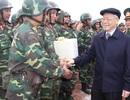 Tổng Bí thư Nguyễn Phú Trọng: Quân đội luôn là lực lượng nòng cốt đi đầu