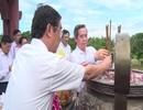 Trưởng ban Kinh tế Trung ương tri ân liệt sĩ tại Quảng Trị