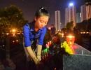 2.000 thanh niên Hà Nội thắp nến tri ân các anh hùng liệt sĩ