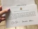 Thiệp vợ chồng ông Obama mừng đám cưới gây sốt mạng xã hội