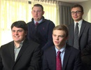 Bốn học sinh trung học chạy đua ghế thống đốc Mỹ