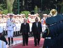 Lễ đón Tổng bí thư, Chủ tịch nước Lào tại Phủ Chủ tịch