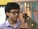 """""""Thần đồng"""" violin 14 tuổi là Gương mặt trẻ Thủ đô 2016"""