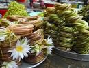 Chợ đặc sản bình dị ở miền Tây mùa nước nổi