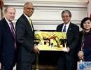 Đại sứ Phạm Quang Vinh trao đổi hợp tác tại bang Maryland, Mỹ