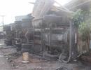 Container tông xe máy, 1 người tử vong, 4 người bị thương