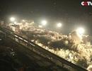 Trung Quốc: Xem 19 tòa nhà bị đánh sập trong nháy mắt