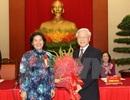 Tổng Bí thư gặp mặt đại biểu Chương trình Vinh quang Việt Nam