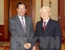 Tổng Bí thư Nguyễn Phú Trọng bắt đầu chuyến thăm Campuchia