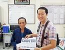 Trao gần 75 triệu đến bà Nguyễn Thị Cúc