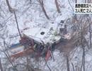 Trực thăng Nhật Bản chở 9 người rơi xuống núi, ít nhất 3 người chết