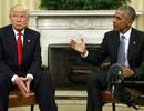 """Tổng thống Trump """"lạnh nhạt"""" với người tiền nhiệm Obama"""