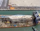 Sau 6 giờ lai dắt, phà Sewol xấu số đã được đưa tới cảng Mokpo