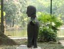 Hà Nội: Ám ảnh vườn tượng nghệ thuật hoang tàn trong công viên Bách Thảo