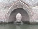 Phát hiện tượng phật 600 tuổi dưới bể nước ở Trung Quốc
